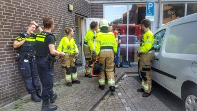 Photo of Brandmelding bij Cultureel Centrum in Uden na potten bakken