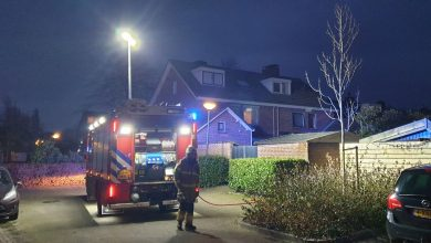 Photo of Schuur in brand aan De Schild in Schijndel