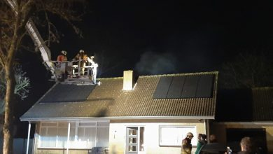 Photo of Schoorsteenbrand Irenestraat in Haps