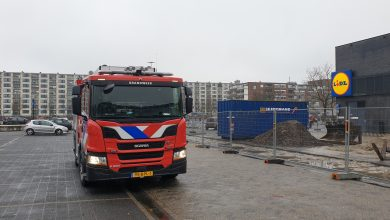 Photo of Gaslek bij winkelcentrum Woensel XL