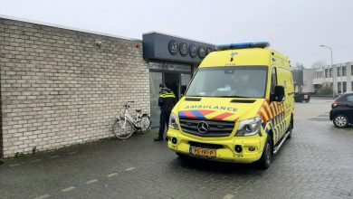 Photo of Fietser aangereden door auto Loopkantstraat Uden